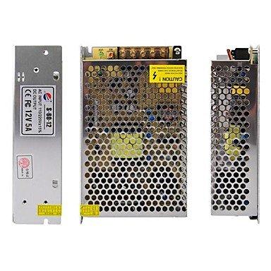Gjyangibabe 60W Switch Power Supply Driver For Led Strip Light 12V 5A, Ac200~240V Input