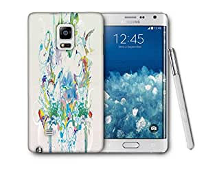 Snoogg Abstract Bird Art Printed Protective Phone Back Case Cover For Samsung Galaxy NOTE EDGE