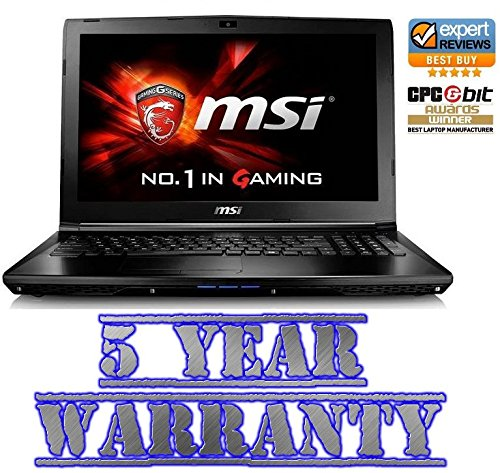New MSI Gaming Laptop Intel i5 Quad Turbo,16GB DDR4 Ram,2 Graphics Cards inc 2GB GtX! 1TB HDD,Windows 10,inc 5 Year Warranty