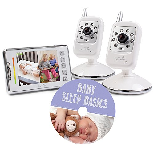 Summer Infant Multi View Digital Color Video Monitor W/ Baby Sleep Basics Guide