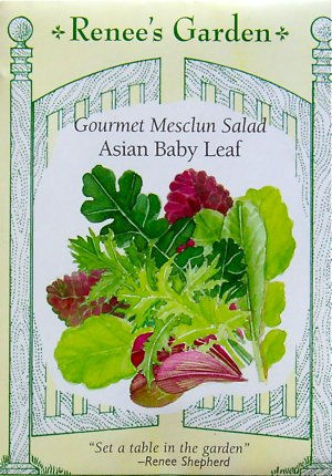 Asian Baby Leaf Mesclun Greens Seeds