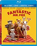 51BigL8PxcL. SL160  Fantastic Mr. Fox (Three Disc Blu ray/DVD Combo)
