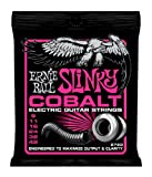 Ernie Ball 2723 Cobalt Electric Guitar, Super Slinky (9 - 42)
