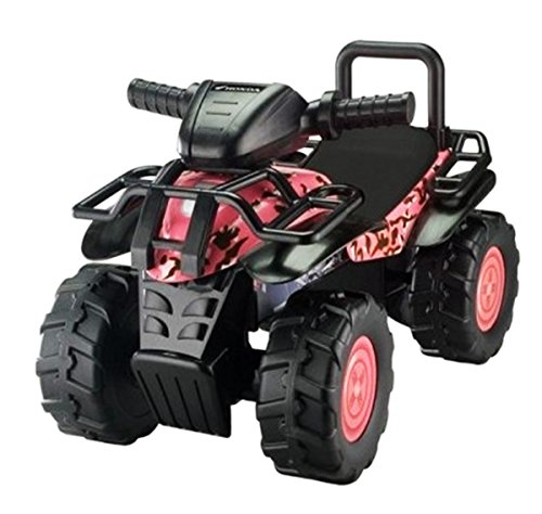 Honda Tek Nek Kids Camo Ride-On Utility Atv Pink