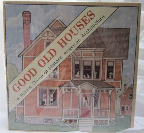 GOOD OLD HOUSES A Puzzle Game of Historic American Architecture by Educational Designs