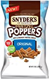 Snyder's of Hanover Pretzel Poppers Airy and Crunchy Shells, Original, 12 Ounce