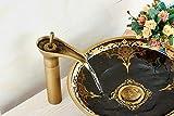 KBSN-Antique-des-robinets-robinets-de-lavabo-robinets-de-cuisine-machine--laver-robinet-chrome-inox-bross-Pierre-robinet-en-laiton-massif