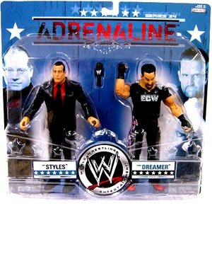 Buy Low Price Jakks Pacific WWE World Wrestling Adrenaline Series 34 Joey Styles & Tommy Dreamer Action Figure 2-Pack (B001NM5R6G)