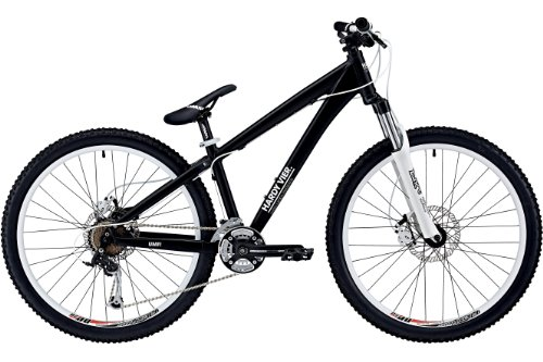 UMF Hardy 4 Disc matt black (2012) (Frame size: 35 cm) Dirt Hardtail bike