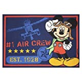Mickey Mouse Clubhouse Airplane Area Rug 39 In x 54 In