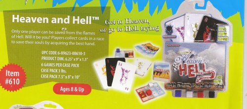 Heaven and Hell Card Game by Haywire