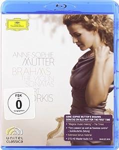 Brahms Violin Sonatas Blu-ray from Deutsche Grammophon