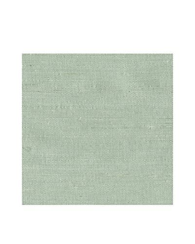 Brewster Kimi Grasscloth Peelable Wallpaper, Agua