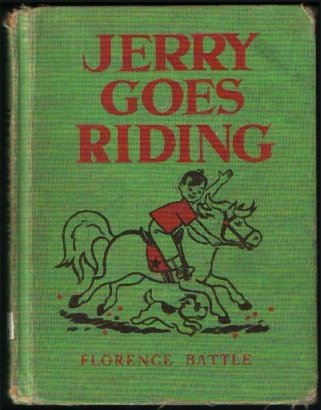 Jerry goes riding, Florence Battle