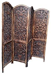 AAMAZING Shilpi:Wooden Partition / wooden Room Divider/ wooden Screen / wooden seperator Wooden Wooden Screen/Partition/Room divider 01