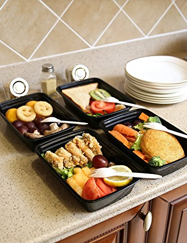 free shipping green bento meal prep containers with lids. Black Bedroom Furniture Sets. Home Design Ideas