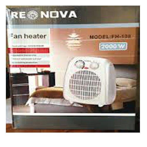 Best Price For Renova Fan Heater Fh 108 2000 1000 W Thermal