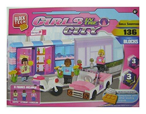 Block Tech Girls in the City - Girls Shopping - 136 Blocks - 1