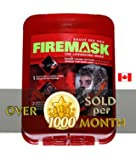 FIREMASK Emergency Escape Hood Oxygen Mask Smoke Mask Respirator for Industrial and Urban Survival - Protects for 60 Min Against Fire, Gas, & Smoke Inhalation . Great for Home, Office, Truck, High Rise Buildings. Get Peace of Mind Now!