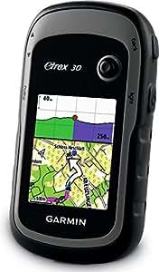 Garmin eTrex 30 GPS Gerät inkl. Karte Topo Deutschland Light mit robustem 2,2'' Display, barometrischem Höhenmesser, 3-Achsen-Kompass und ANT+