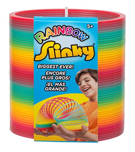Original Slinky Brand Ginormous Rainbow Slinky (Extra Large Rainbow compare prices)