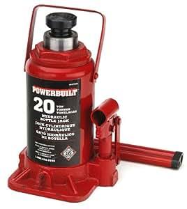 Powerbuilt 647503 Heavy Duty 20-Ton Bottle Jack