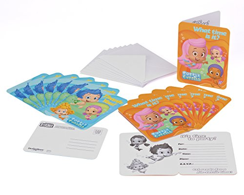 American Greetings Bubble Guppies Invite and Thank You Combo (8-Pack)