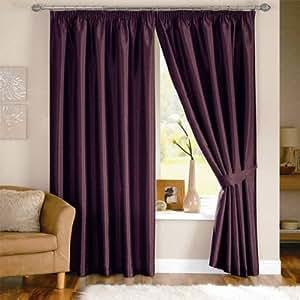 dreams 39 n 39 drapes rideaux doubl s avec t te fourreau. Black Bedroom Furniture Sets. Home Design Ideas