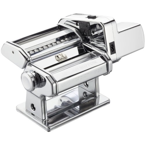 Atlas Electric Pasta Machine, Silver with Motor Set (Pasta Makers compare prices)