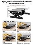 ER-Gesunde-Sit-Stand-Workstation-Desktop-Computer-Hhenverstellbare-Stehpult-Heben-und-Senken-Table-Top-in-verschiedene-Positionen-fr-Ergonomic-Comfort-schwarz