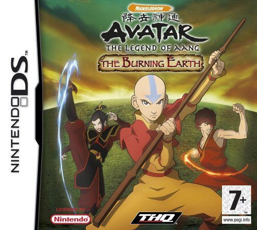 Avatar The Legend of Aang The Burning Earth (Nintendo DS)