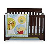 4 Piece Baby Crib Bedding Sets, for Girls, for Boys (Winnie the Pooh)