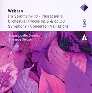 Webern In Sommerwind Orchestral Pieces Variations by Apex/Warner Classics