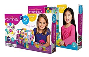 amazon.com: maven gifts: roominate townhouse building kit