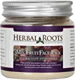 Herbal Roots Anti Tan Mix Fruit Pack - Glow & Skin Hydration - 100 gm- MRP- Rs. 549