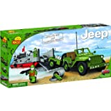 Cobi Willys MB and Landing Craftby Cobi