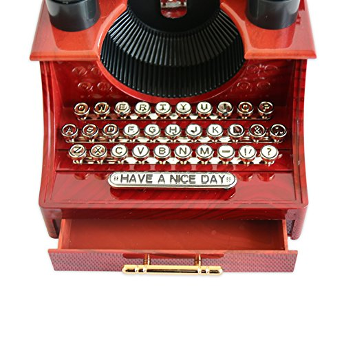Alytimes Vintage Typewriter Music Box for Home/Office/Study Room Décor Decoration 7
