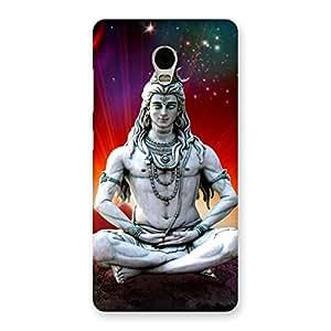 Premium Shiva Yog Back Case Cover for Lenovo Vibe P1