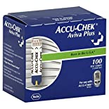 Accu Chek Aviva Plus Test Strips, 100 strips