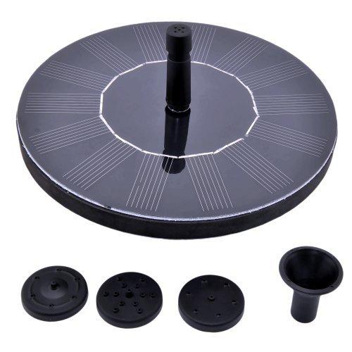 VicTsing1.4 Watt Floating Solar Fountain Pump Watering Kit for Birdbath Fountain Pool Garden Pond Plants