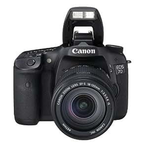 Canon EOS 7D - Cámara réflex digital de 18 Mp (Objetivo EF-S 18-135mm)