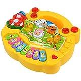 Shopperz Animal Farm Rainbow Music Piano Baby Enlightenment/educational Keyboard