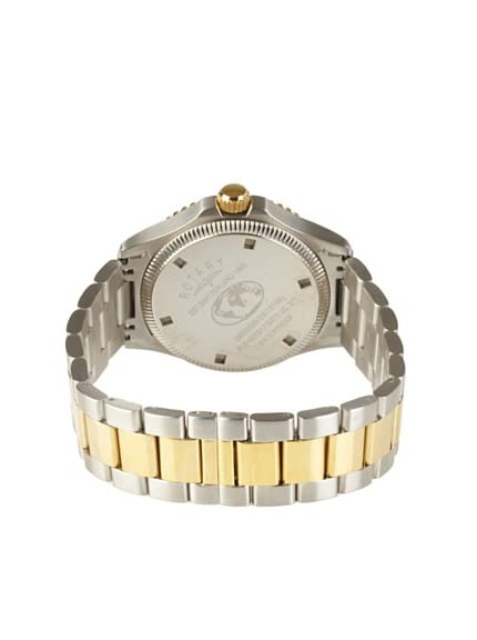 Rotary Men's GB00026-05 Timepieces Classic Silver-Tone/Goldtone Bracelet Watch
