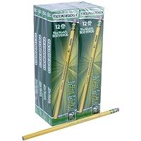 Dixon Ticonderoga Wood-Cased Pencils, Box of 96 (Yellow)