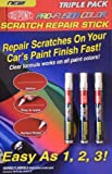 Dupont-Pro-Fusion Color Car Clear Coat Scratch Repair Stick Touch Up Pen For All Paint Colors - 3 PACK