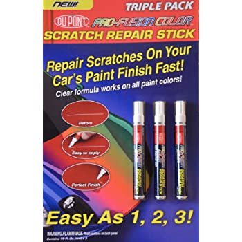 Set A Shopping Price Drop Alert For Dupont-Pro-Fusion Color Car Clear Coat Scratch Repair Stick Touch Up Pen For All Paint Colors - 3 PACK