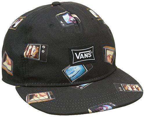 vans-gambell-unstructured-berretto-da-baseball-uomo-nero-hank-bank-taglia-unica-taglia-produttore-on