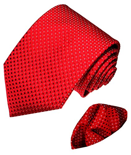 LORENZO CANA - Marken Krawattenset aus 100 %