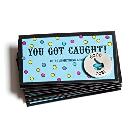 You Got Caught! - Tokens and Cards (set of 10 each)