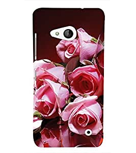 EPICCASE blusing roses Mobile Back Case Cover For Microsoft Lumia 550 (Designer Case)